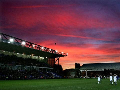 London Road, Home of Peterborough United (POSH), Peterborough England