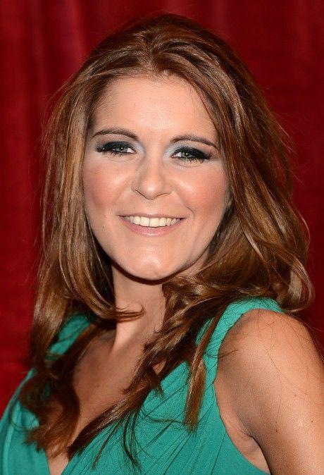 Gemma Oaten Red Carpet Hairstyles: Medium Length Hair Style