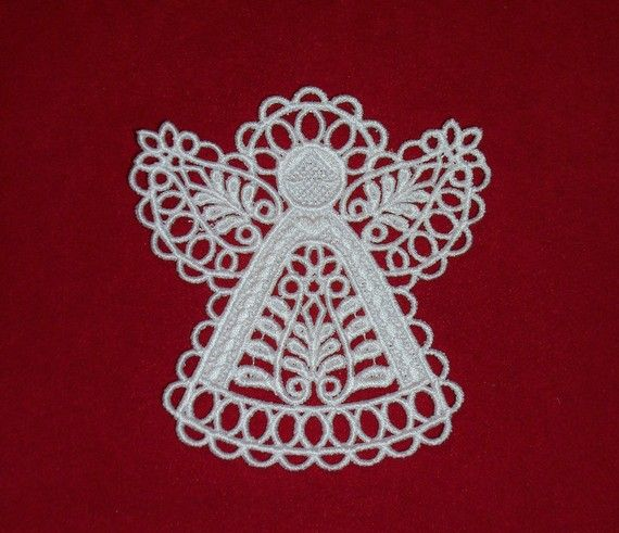 Crochet Angel Baptism Gift Christmas Lace Angel Ornament Tree: 1000+ Images About Angel Christmas Ornaments On Pinterest