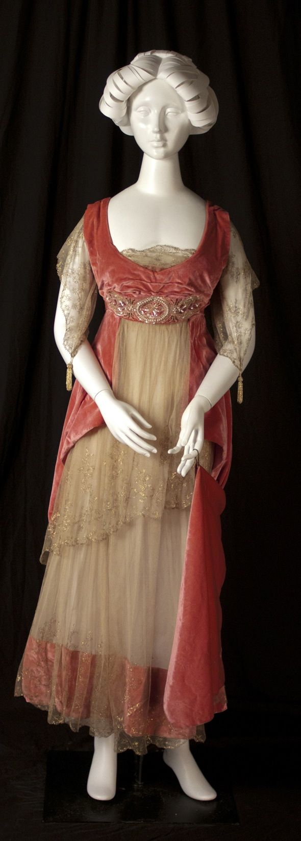 Emma Watts wore this dress to several local cotillion dances in 1915. Elmwood collection / Eastern Kentucky University.