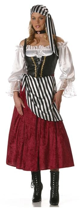 Premier Pirate Wench Adult Costume | Costume Craze