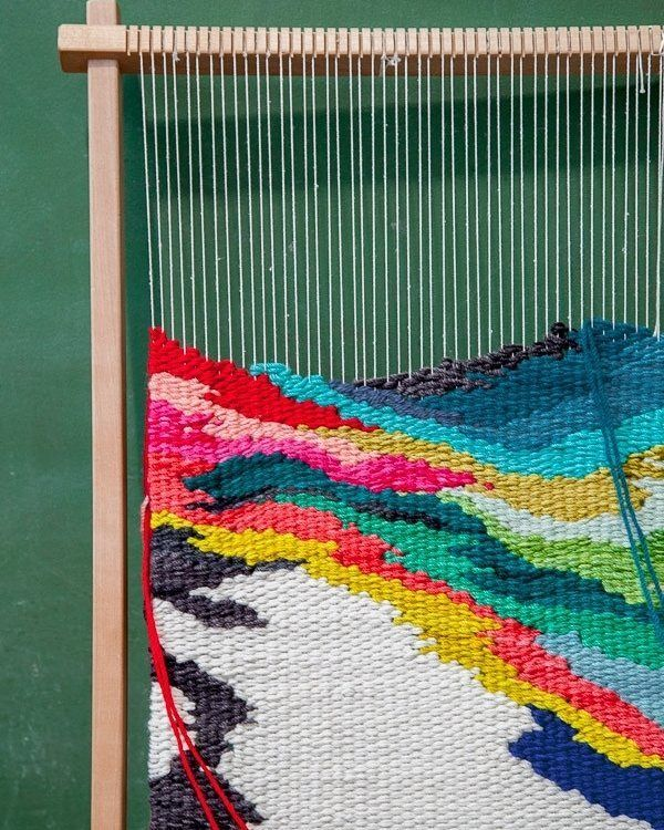 GET IN QUICK! We have 2 spots that have opened up in Natalie Miller @natalie_miller_design Tapestry Weaving workshop tomorrow! Book via link in profile or call the showroom ASAP on 92800999.