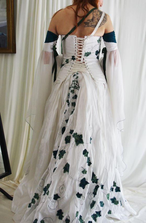 Assez Les 16 meilleures images du tableau robe de mariée celtique sur  NF69