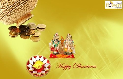May this Dhanteras Celebrations Endow you with opulence and prosperity, Happiness comes at your steps Wishing many bright future in your life..  Shubh Dhanteras!