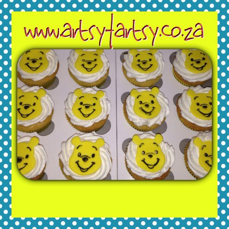 Winnie The Pooh Cupcakes #winniethepoohcupcakes
