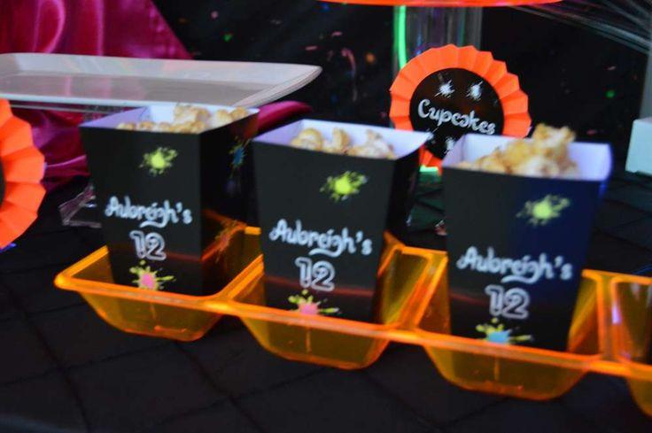 Glow Party Birthday Party Ideas | Photo 1 of 17