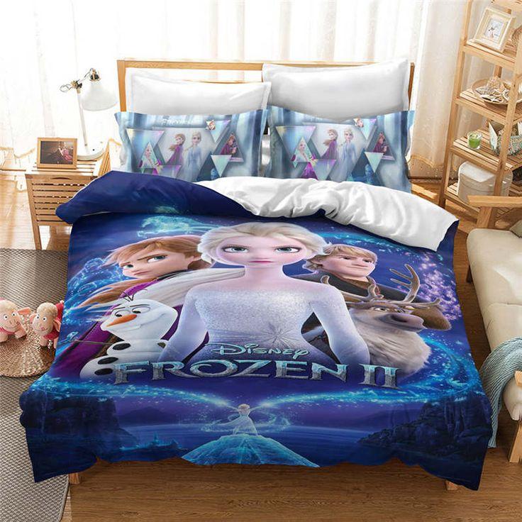 Frozen 2 Bedding, Disney Bed Sheets Queen Size