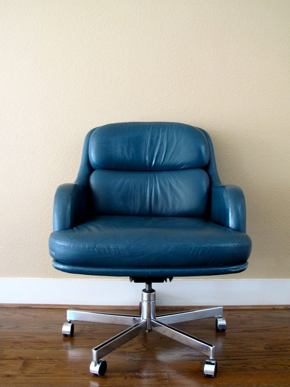 The vintage Office Chair by botanicalmarket on Etsy, $360.00