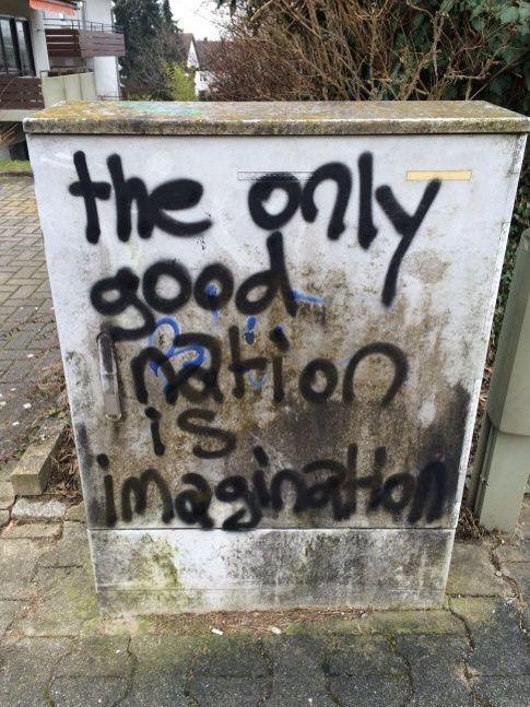 Pinterest samingram3 ☆ Street quotes, Street art graffiti