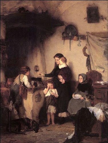 "The Orphans, Gizis, ""Τα ορφανά"", Γύζης."