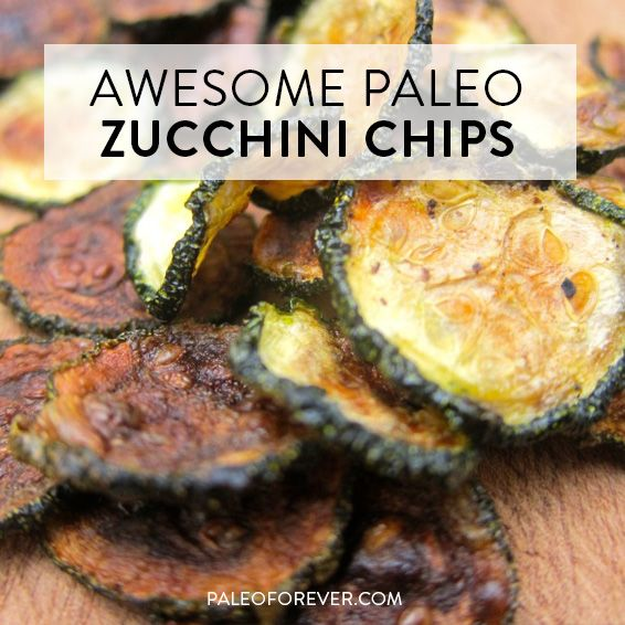 Awesome Paleo Zucchini Chips  Paleo Forever