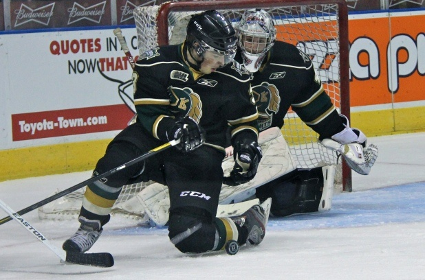Miles Liberati of the London Knights <3  hes now traded