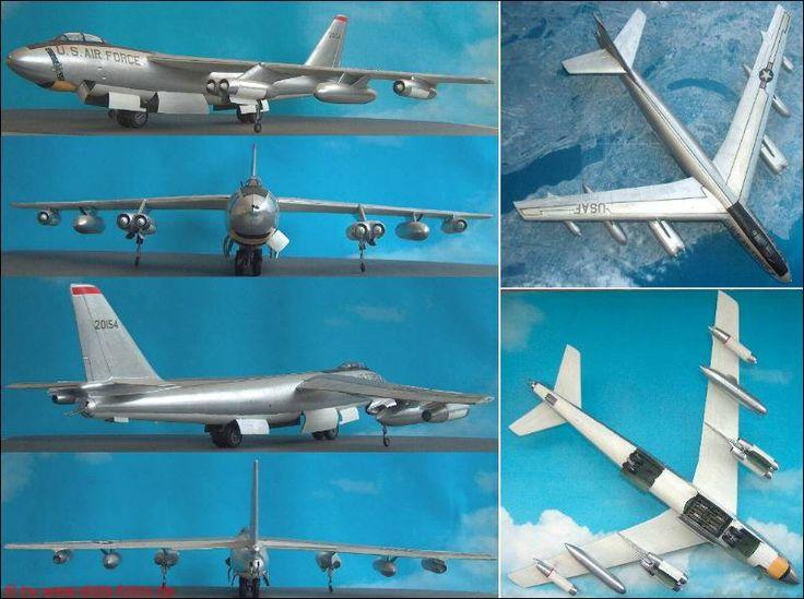 "Boeing B-47E ""Stratojet"" (Hasegawa K07) 1:72"