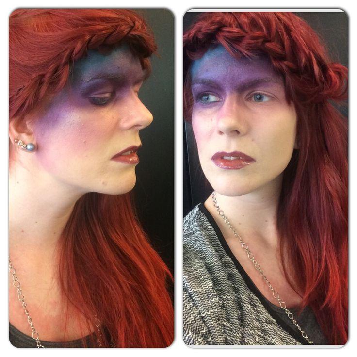 Playing around with makeup doing some high fashion fun!