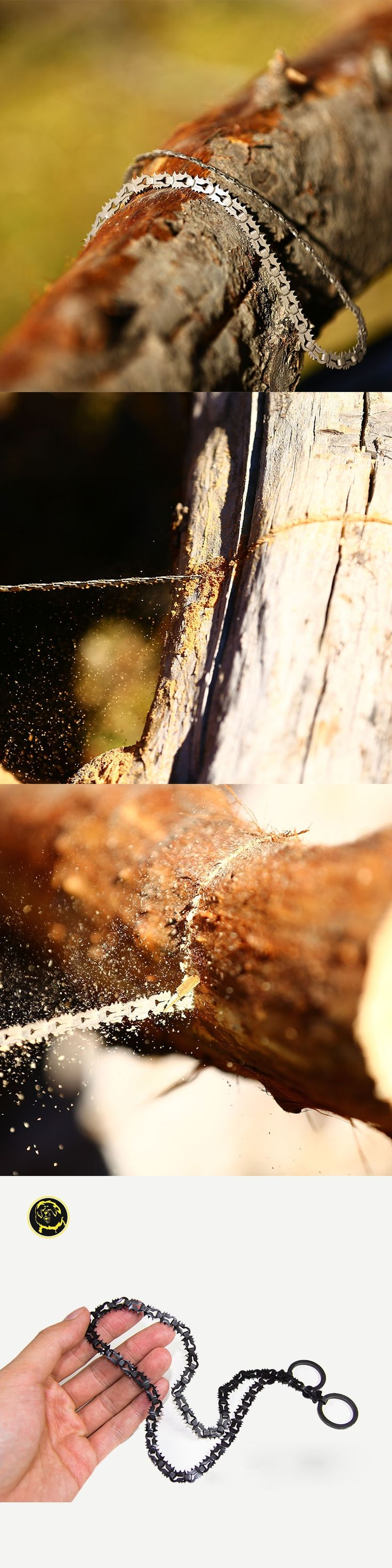 Survival Wire Saw Military Scroll Steel Saw Outdoor Hunting Tibetan mastiff chain saw serra testere hacksaw miter saw