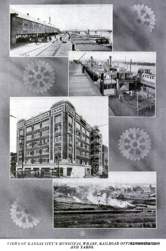 May 1914 issue of the Rotarian Magazine dedicated to the upcoming opening of the Kansas City Union Station with photos and dedication from the local hotels and other prominent businesses.