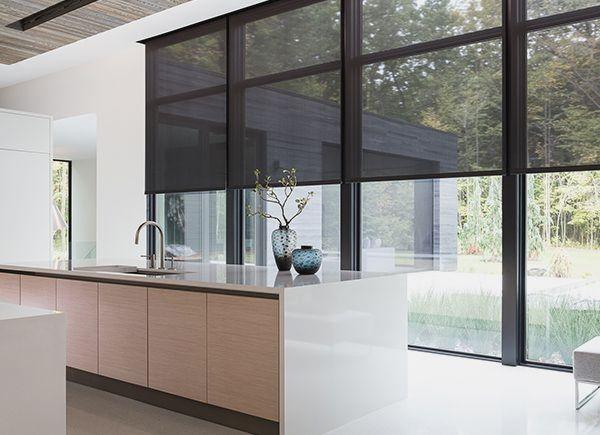 42++ Window treatments for black windows ideas