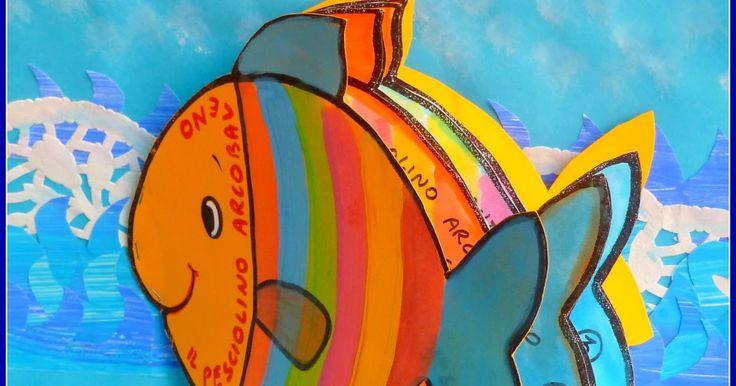 Oltre 25 fantastiche idee su il pesce arcobaleno su for Disegni pesciolino arcobaleno