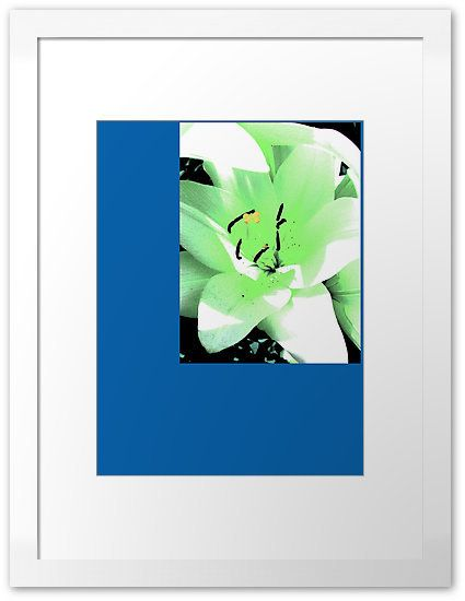 PlatinePearl, green lily on ArtStack #platinepearl #art