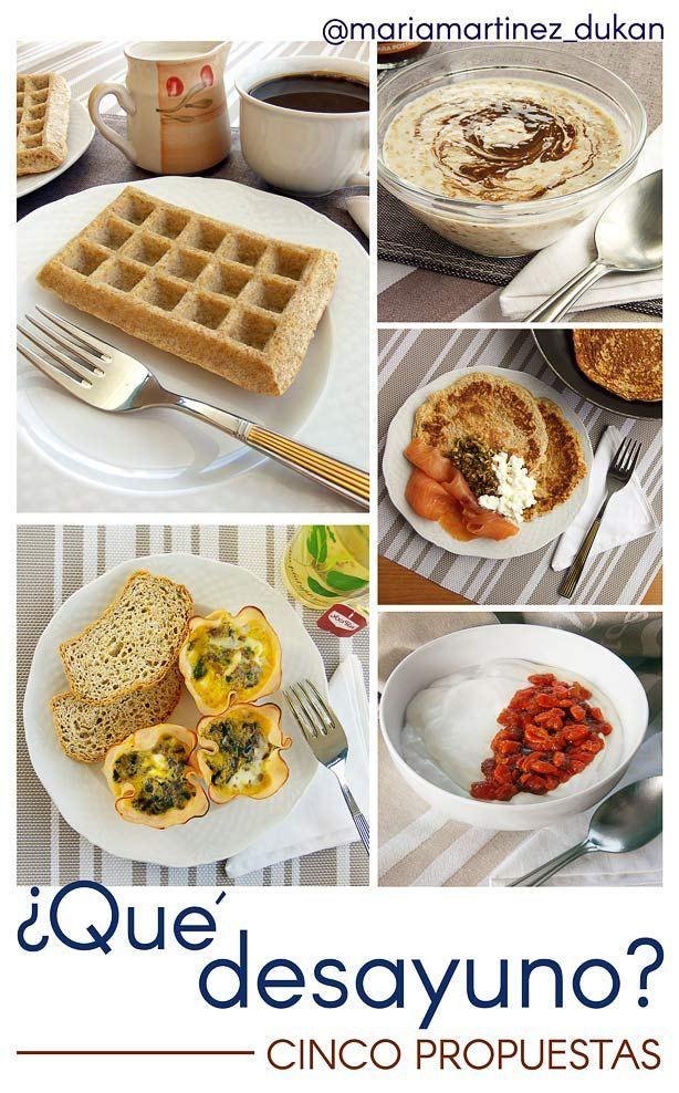 Desayunos para la dieta Dukan: 5 ideas faciles y ricas para disfrutar de tu dieta