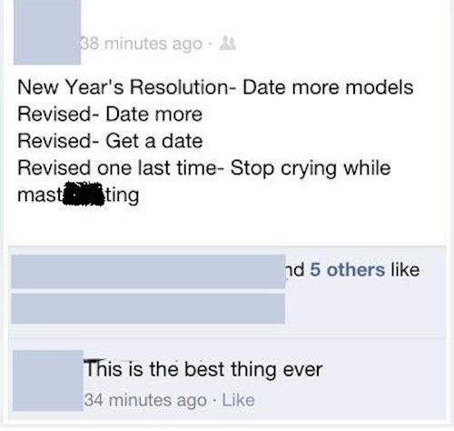 best new years status'