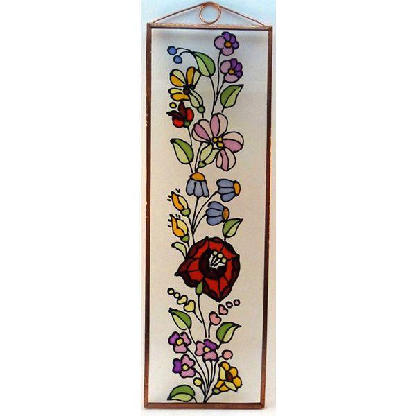 Kalocsai virágok Mérete: 7,5 cm x 23,5 cm