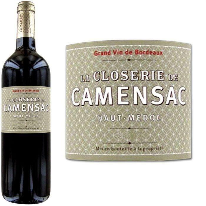 8.99 € ❤ Le #BonPlan #Vins - La Closerie de Camensac #HautMédoc 2008 - #Vin Rouge ➡ https://ad.zanox.com/ppc/?28290640C84663587&ulp=[[http://www.cdiscount.com/vin-champagne/grands-crus-vins-rares/la-closerie-de-camensac-haut-medoc-2008-vin-r/f-129620505-ccamensac08.html?refer=zanoxpb&cid=affil&cm_mmc=zanoxpb-_-userid]]