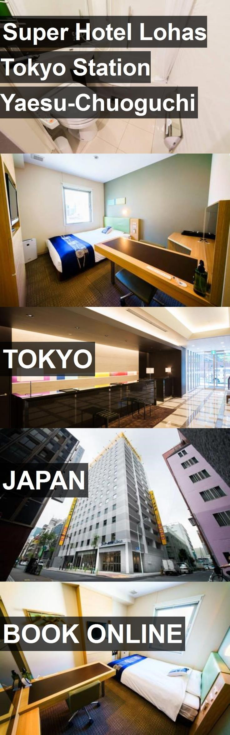 Hotel Super Hotel Lohas Tokyo Station Yaesu-Chuoguchi in Tokyo, Japan. For more information, photos, reviews and best prices please follow the link. #Japan #Tokyo #SuperHotelLohasTokyoStationYaesu-Chuoguchi #hotel #travel #vacation