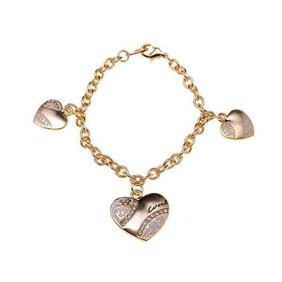 Coach Heart Signature Gold Bracelets ALD Provides The High Quality And Fast Delivery For You!