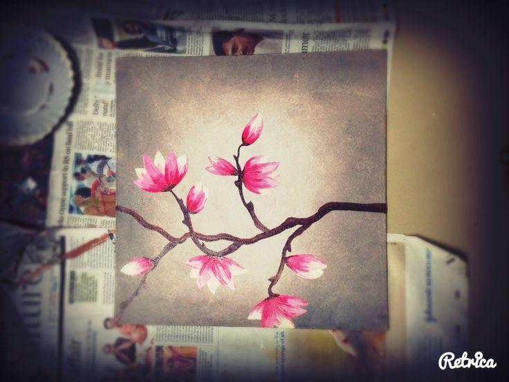 #paintingmagnolias