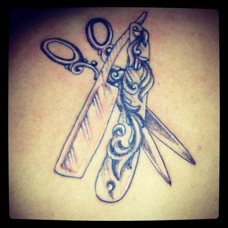 My barber tattoo <3