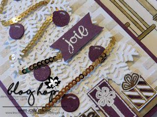 Les créations de Marie-Josée: Blog Hop de décembre Noël non traditionnel #scrapbooking #pretpournoel #readyforchristmas #cards