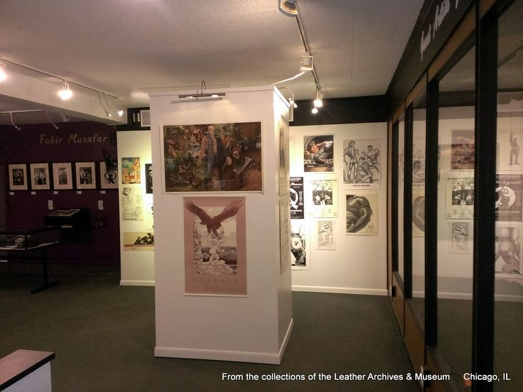 Now showing in the GAG, a selection of posters from the LA&M Poster collection. This exhibit sponsored by CLAW, pick up your free CLAW 2015 poster at the Leather Archives & Museum
