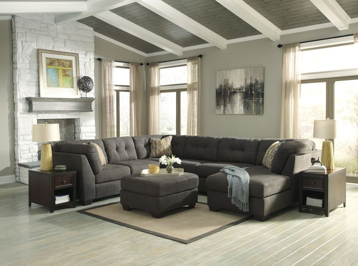 Slipcovers For Sofas Signature Design Living Room PC Sectional Sectional Comfy Couch Company Columbus