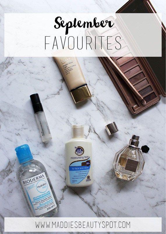 September Favourites | Maddie's Beauty Spot