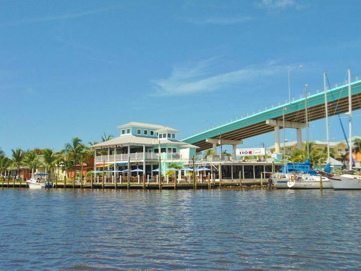 Matanzas Harborside Restaurant Petey S Upper Deck Bar Fort Myers Beach