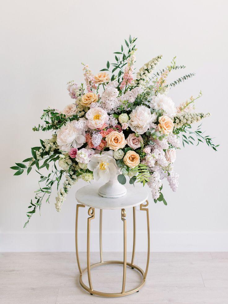 Romantische Hochzeitsinspiration | Frühlingshochzeit | Sommerhochzeitsinspiration | Kri …   – Flowers