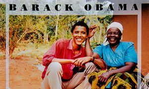 The cover of Dreams From My Father, one of Obama's bestselling books.