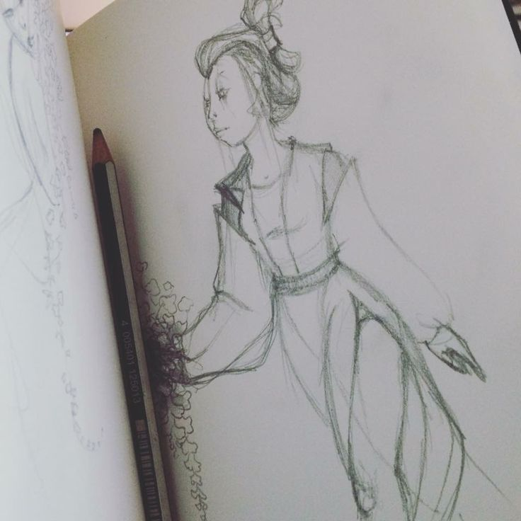 #japan #lady #sketch #characterdesign