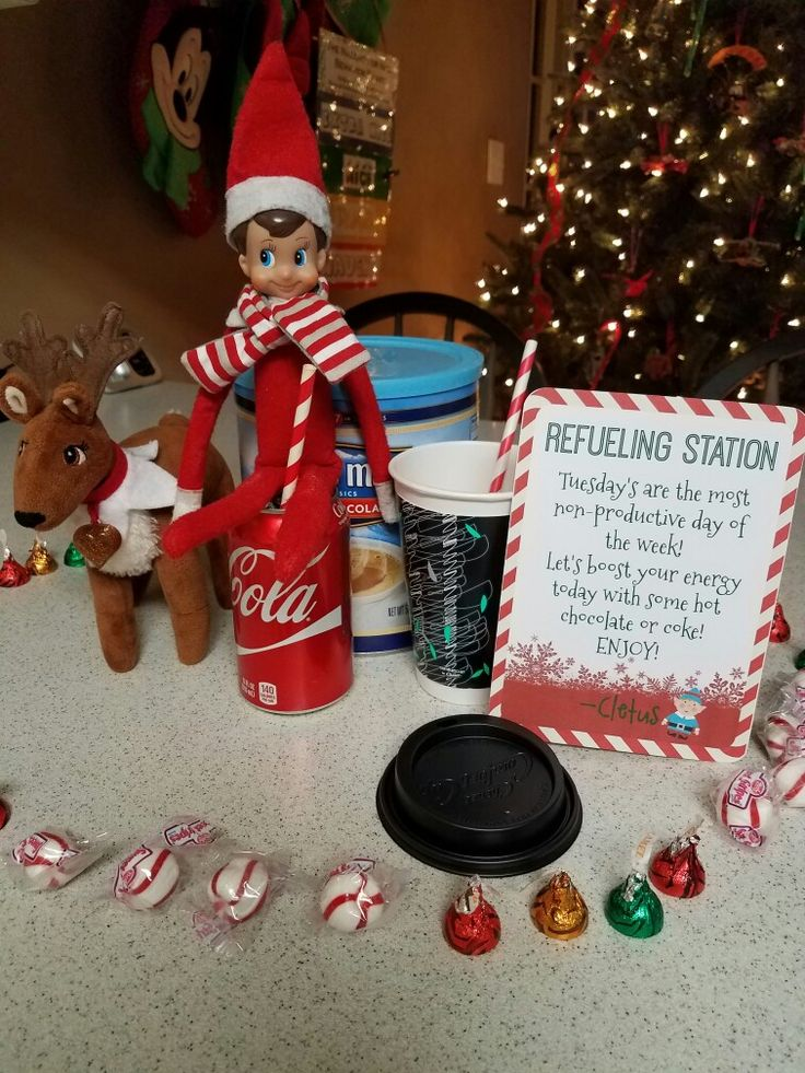 Refueling Station Elf on the shelf | Ryder's Elf on the ...
