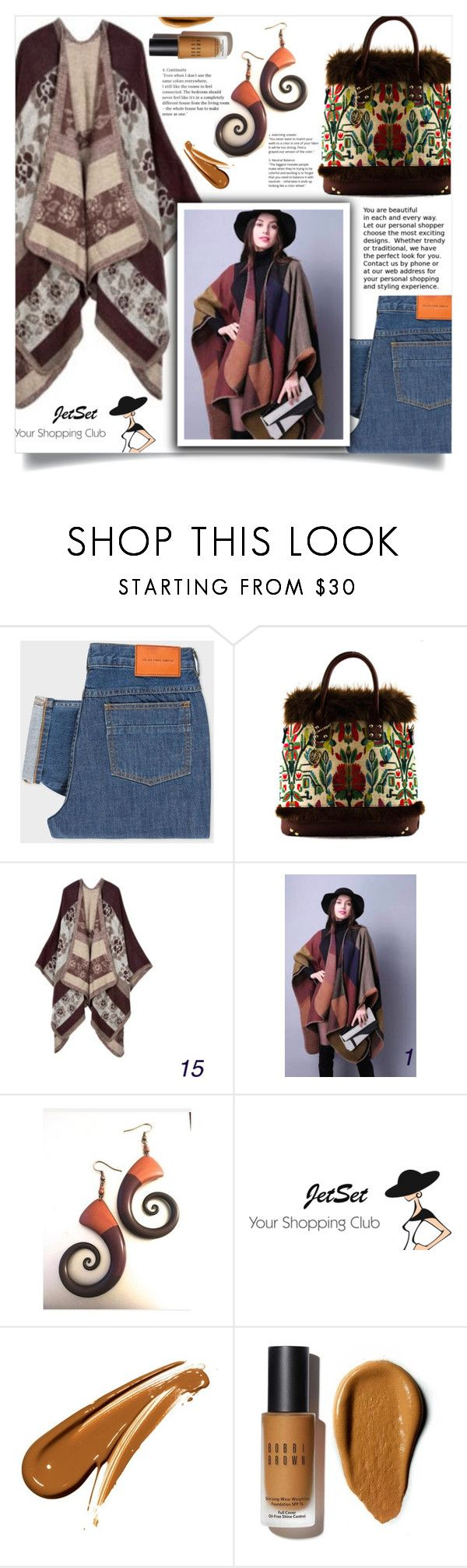 """""""JetSet shop!"""" by samra-bv ❤ liked on Polyvore featuring PS Paul Smith, Carbotti, Bobbi Brown Cosmetics, Fall, Winter, bag and autumn"""