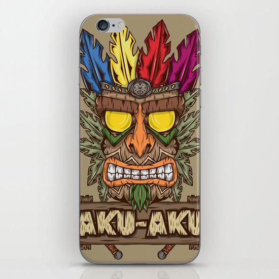 Aku-Aku (Crash Bandicoot) iPhone & iPod Skin