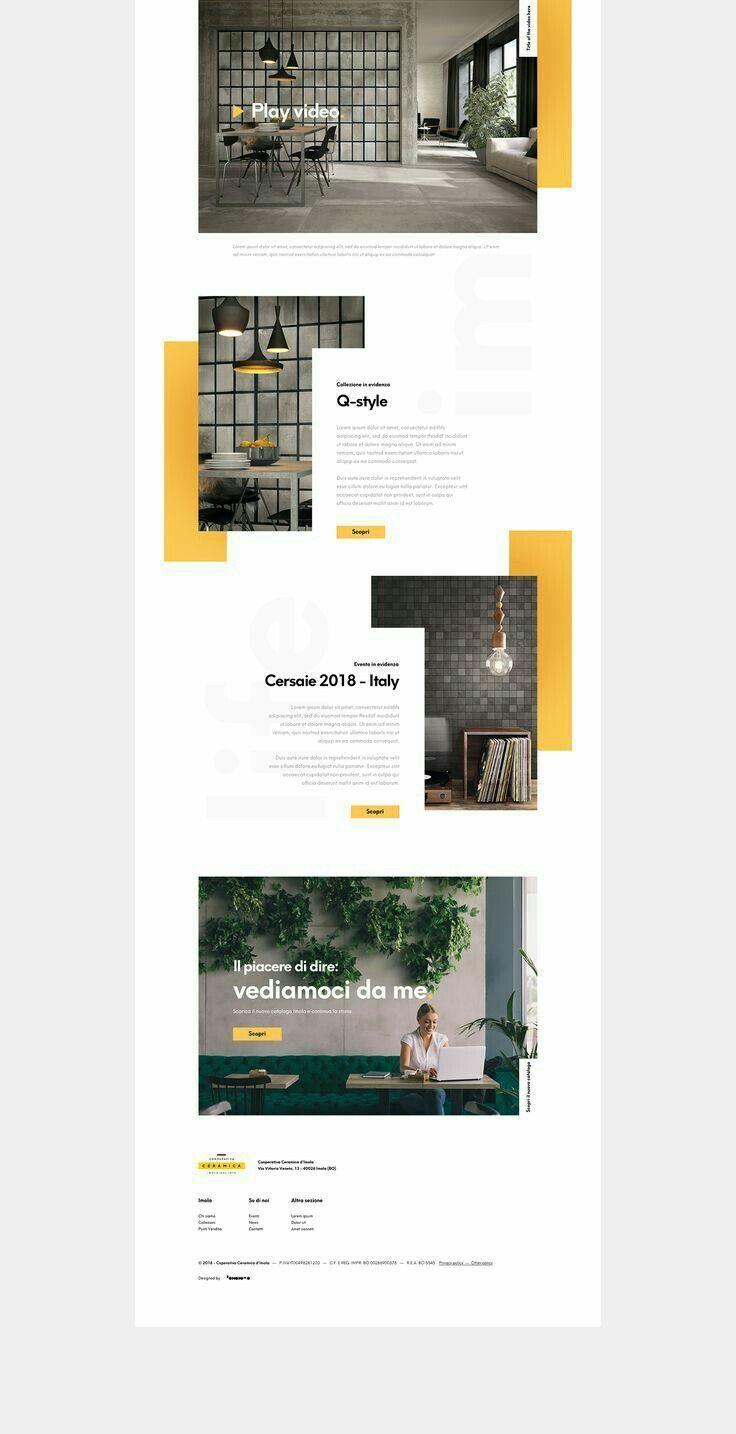 Web Design Layout Fashion Design Template In 2020 Met Afbeeldingen Weblayout