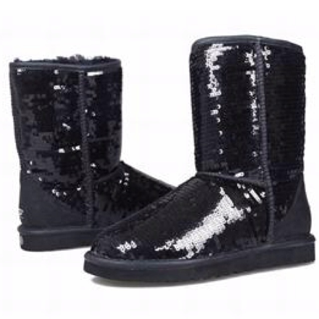 black glitter uggs on sale