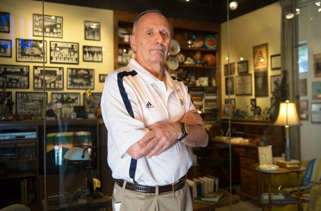 Tony Spino worked on 27 NCAA title-winning teams, took care of John Wooden in his final years, and is now the Director of Athletic Training for Recreation.