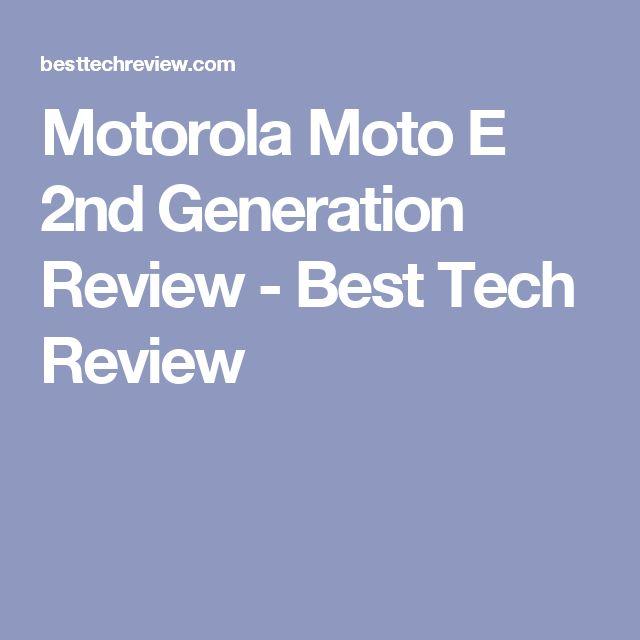 Motorola Moto E 2nd Generation Review - Best Tech Review