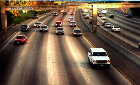 OJ Simpson car chase - 1994