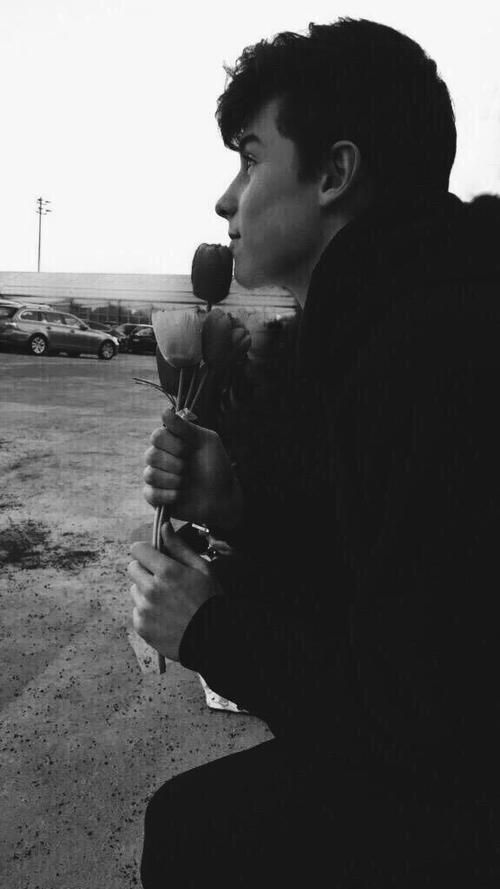 imagine: Shawn is waiting outside your house, contemplating what he will say to you