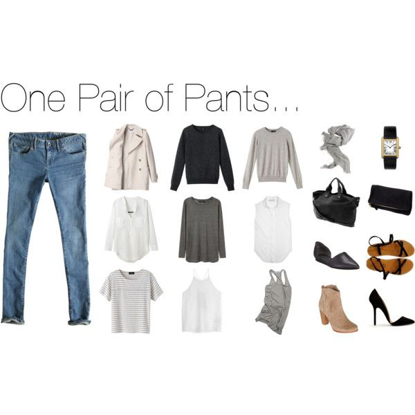 stractstyle on Polyvore -- fantastic capsule wardrobes!