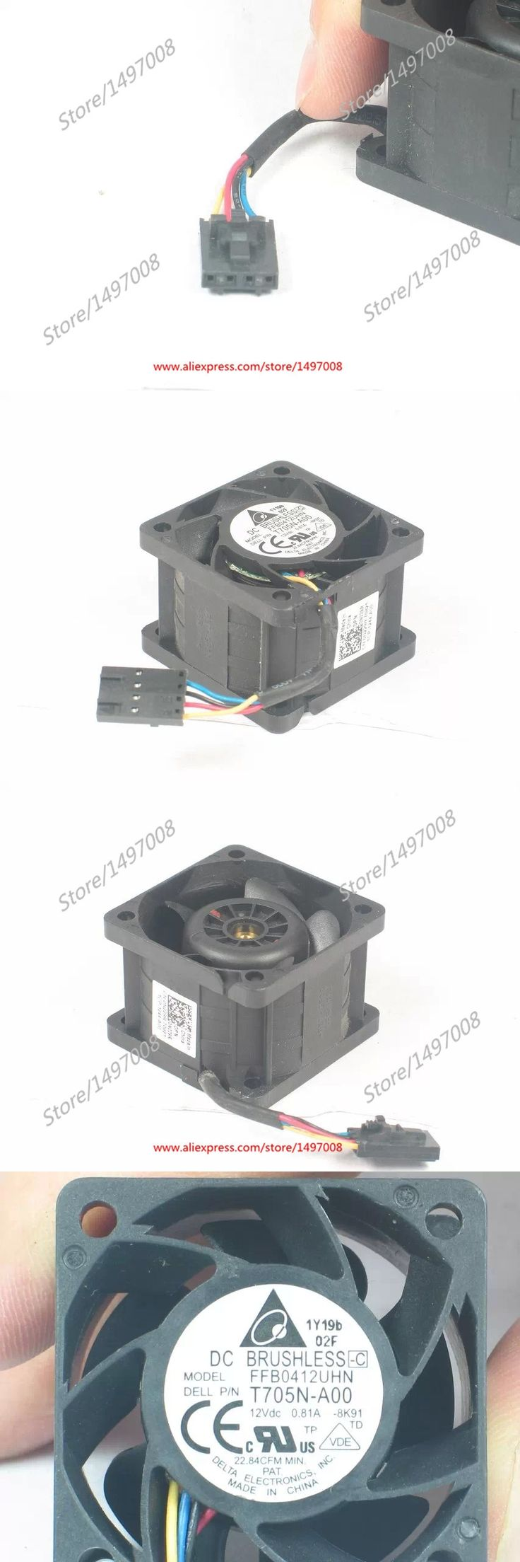 Free Shipping For DELTA FFB0412UHN -8K91 DC 12V 0.81A 4-wire 4-pin connector 40mm 40x40x28mm Server Square fan